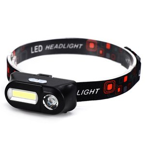 Portable Mini LED Headlamp Outdoor Camping USB Rechargeable Head Light Hiking Night Fishing Cycling Headlight