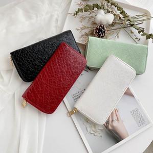 European and American women's purse long large capacity zipper Hand Bag Fashion Wallet