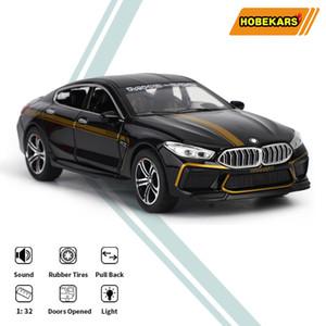 HBEKARZLAR 1:32 MH8-800 Geri Diecast Model Araba Oyuncaklar Simülasyon Metal Araçlar M8 Spor Araba M Koleksiyonu için X0102