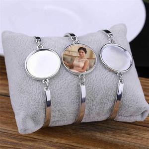 Pulseras de sublimación para mujeres Moda Transferencia de calor Pulsera en blanco Joyería Consumibles en blanco Suministros Nuevo Arrvial 15pieces / Lot 0930