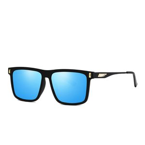 Square Polarized Metal Frames Are Used Both Men and Women Sunglasses Driving Fishing Outdoor Design Master Elaborate Sun Glasses