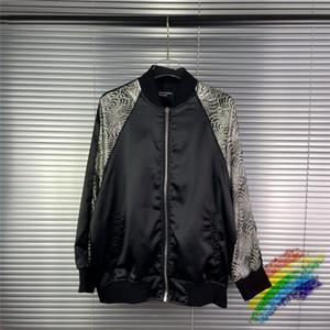 2021FW Cardigan Baseball Jacket Men Women 1 Best Quality Coat Streetwear Jackets
