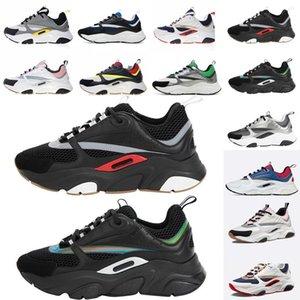 B22 Sneaker Herren-Designer-Schuhe Vintage-Turnschuhe Leinwand und Kalbsleder Turnschuhe Luxus Unisex Low Top Freizeitschuhe 20color Big siz