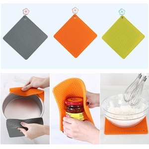 Square Table Mat Silicone Mat Baking Liner Kid Placemat Multifunction Kitchen Mat Pad Oven Mats Heat Insulation Non Slip
