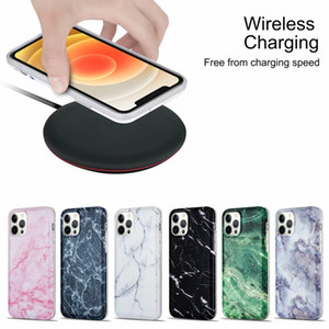 Glossy Marble Soft IMD TPU Case For Samsung Galaxy S20 FE Plus Lite Note 20 Ultra A31 A41 A71 A51 5G Natural Granite Stone Rock 360 Cover