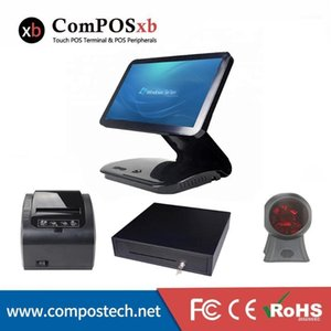 Factory price 15.6inch touch screen all in one high quality cash registers machine pc1