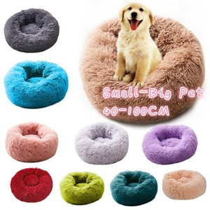 Pet Bed Sofa Cat Dog Winter cat's house Washable Long plush For Dog Kennel Soft Bedding Kennel Nest Foldable Puppy Cushion Mat