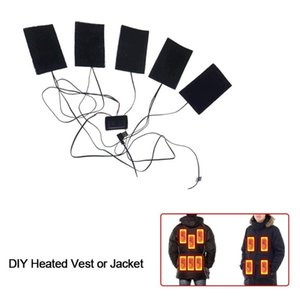 Clothes Heating Film Down Jacket Heating Film Cotton Vest Accessories Smart Dual Control Silicone Button
