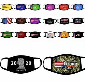 Suministros de EE.UU. LSK914 Gran Trump Elección hacer máscaras bucales América 2020 Cara Biden impresión a prueba de polvo del diseño la cubierta de la máscara de adulto niño otra vez Hana