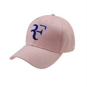 Cap 2020 Roger Federer Wimbledon RF Tennis Designer Brand Luxury Baseball Korean Sun Hat Adjustabl W8av#
