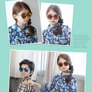 70% de desconto de alta qualidade blackout crianças novas moda tendência flores bebê óculos de sol de plástico óculos 051fd