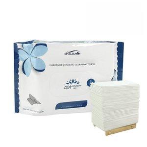 Havlu pamuklu doku peçete yüz havlu taşınabilir seyahat tek kullanımlık temizleme yumuşak bez