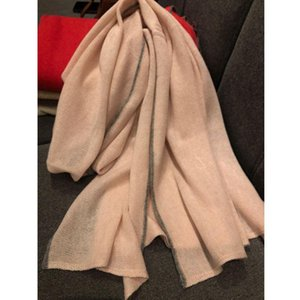 100% Cashmere Scarf Women Couple Scarf Fashion Knitted Warm And Comfortable Thick