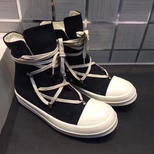 2018SSS TOE y reemplazado como único High Original TPU Fragant Sole Earth-Tone Vegan High Top Genuine Canvas Sneaker Trainer Boots