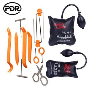 PDR Locksmith Supplies Air Pump Wedge Auto Lockout Tool Kit Lock Pick Set Lock Opener Car Radio Panel Removal Tools Door Opening