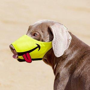 개를위한 총구 입 마스크 애완 동물 개 총구 재미 있은 총구 통기성 마스크 강아지 안티 - 물린 안티 먹는 짖는 애완 동물 입 마스크 201102