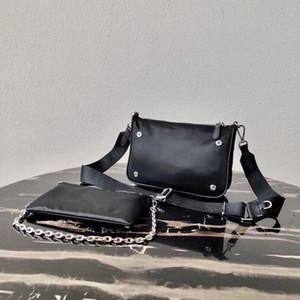 borsa a tracolla twin set donne compositi tote bag messenger 2 pezzo borsa della borsa della signora set tela per gli uomini presbiti mini donne Croce Body
