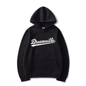 Dreamville Imprimer Hip HOP Sweats à Sweats JO Cole Fashion Streetwear Hommes Femmes Casual Sweat à capuche Sweat à capuche SPOODPOOVOVER UNISELE TOPS 201104