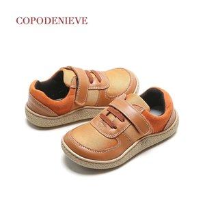 Cctwins couro meninos com arco kids designer menino marcas o menino casual sapatos 201202