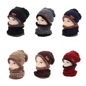 Womens Mens child Knit Hat Winter Warm Ski Cap pullover scarf MZ0071