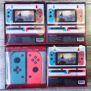 Wireless Bluetooth Pro Gamepad-Controller Joystick für Switch Spiel drahtlosen Handgriff-Joy-Con rechts und von rechts Griff