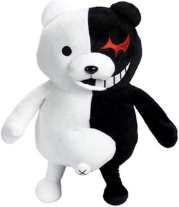 40cm Danganronpa MonoKuma Black & White Bear Plush Doll Toy for kids or cosplay