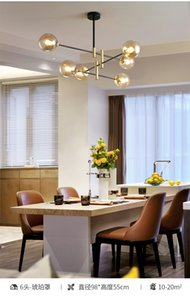 Cam Topu Kabarcıklar Avize Oturma Odası Yatak Odası Mutfak Siyah Avize Kapalı Ev Parlaktı Askıya Alma Armatür