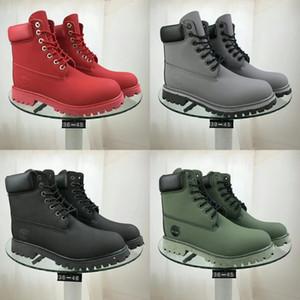 Taoffen Women Ankle Boots Fashion Buckle Zipper Winter Shoes Woman Cross Strap Flats Short Boot Office Lady Footwear Size 33-43#967