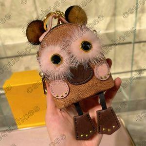 Mujer Mini Palm Spring Bear Crossbody Owl Mochila Mini-Knapsack Mochila Cadena de hombro Bolsa de hombro Impresión CRUZ CUERPO M44873