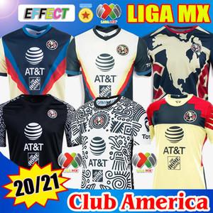 Nuove 19 20 21 Maglie da calcio Club America Soccer Jerseys 2020 2021 Maglia da club Messico Xolos de Tijuana Tigres UNAM Guadalajara Chivas Cruz Azul kit Maglie da calcio