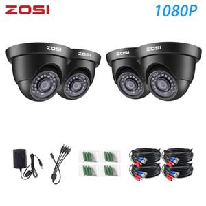 Zosi 1080P TVI 비디오 캠 CCTV 비디오 홈 보안 Nightvision Surveillance System DVR 키트 용 방수 카메라