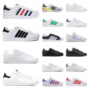 smith men women superstar platform sneakers green black white navy blue oreo rainbow stan mens trainer outdoor sports casual designer shoes