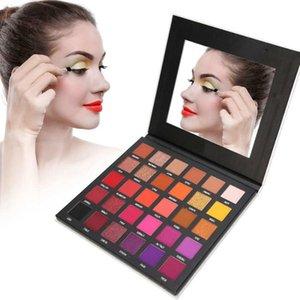 IMAGIC 30 Colors Waterproof Eyeshadow LongLasting Pearlescent Pigmented Eye Cosmetic Tool