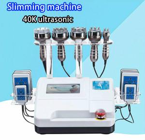 40K ultrasonic cavitation multipolar RF lipo laser vacuum liposuction slimming machine skin care salon spa with 8 pads