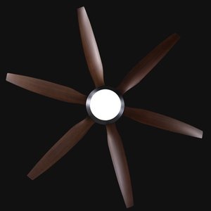 56 62 inch Nordic large country industrial wind ceiling fan LED light DC American retro remote restaurant living room ceiling fans
