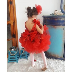 1-6y Toddler Infant Baby Kid Girls Tutu Dress Sequins Bow Princess Party Wedding Birthday Dresses For Girls Christmas R jllQag