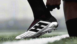 New Predator 19 Predator 302 FG PP Paul Pogba Mens Women Kids Youth Soccer Football Shoes 19 x Cleats Boots High Size 36-45