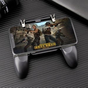 W10 Universal Mobile Phone Game Controller Game Joystick Chicken Dinner Gamepad For Aim Trigger Shooter Button Game Accesories hot sale