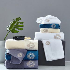 2021 High-grade cotton Towel set bathtowel + facetowel set soft bath face towel handtowel Bathroom towel sets