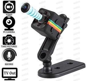 SQ11 Mini videocámaras webcam 1080p cámara web Vision Night Vision Cámaras DVR Cámaras de gran angular Webs CAM Camcorder Soporte Hidden TF Tarjeta