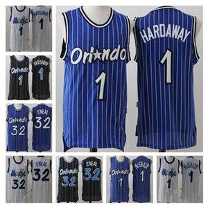 Orlando.MagieJersey Shaquille 32 Oneal Penny 1 Hardaway Tracy Jonathan McGrady Isaac Männer Basketball-Trikots