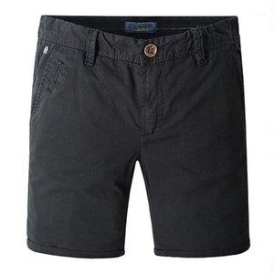 Klassische Abnutzung für Männer gewaschene Baumwolle Fit Atmungsaktive Shorts Drucken Sommer männlich Casual Markenkleidung Strand Shorts1