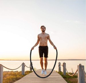 Heavy Jump Rope Fitness Skipping Weighted Ropes Durable Professional Power Training To Improve Strength Hom jllTjW eatout