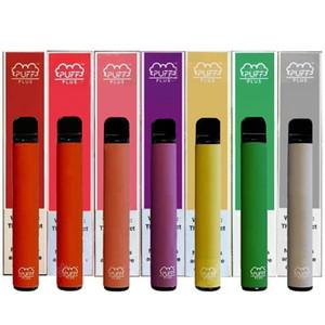 Puff Plus Bar Одноразовый Vape Pen Device Pods Pods Starter Наборы 550mah Battey 3.2 мл Картриджи Партризальные Наборы Peavizer Ручка Упаковка E-Cigarettes