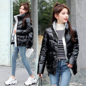 new 11 colors Maternity Winter Coat Women's winter jacket down jacket down jacket shiny stand collar cotton coat