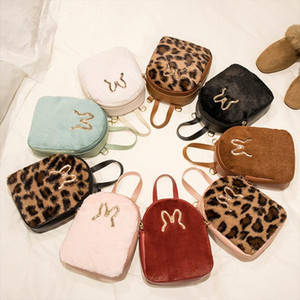 Vento Marea Fashion Mini Backpack For Girl Preppy Style Small Shoulder Bag For Women 2019 Faux Fur Leather Cute Ladies Crossbody
