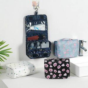 Women's Original Print Travel Waterproof Cosmetic Bag Men's Hanging Portable Wash Bag Cosmetics Star Storage Bags Women Fashion