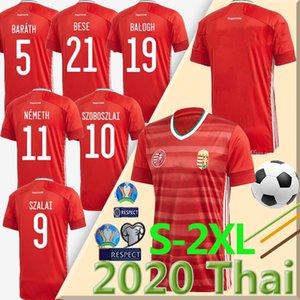 20 21 pullover di calcio della squadra nazionale Ungheria 2020 EURO CUP casa rosso Dominik Szoboszlai Puskás Willi Orban Tamás Kadar maglie da calcio uniforme