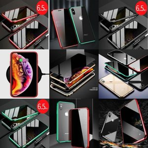 Xs 10 Screen Back Cover 66s78plus Cases Magnetic X Metal Case Iphone For Max Glass Tempered Anti-peep Phone Privacy Xr sqcPT longdrake