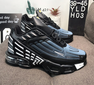 2019 new tn 3 plus III Tuned Men Women Running Shoes airs tns requin Trainers Mens femme Sports chaussures Sneakers size 5.5-11